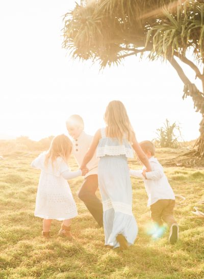 Family Session | Kingscliff – Sunset and a rainbow!