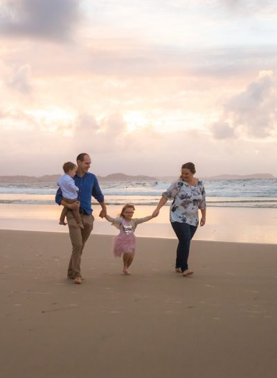 Family Session | Coolangatta – Stormy Pastels