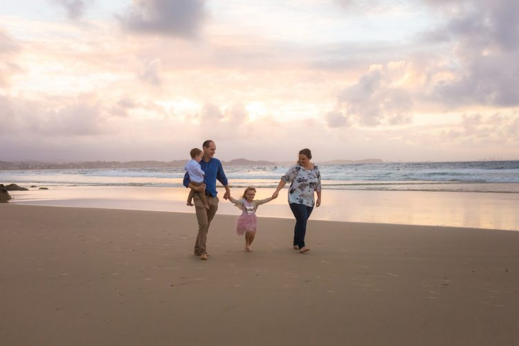 Family portrait photographer Kingscliff Lady Bella Photography