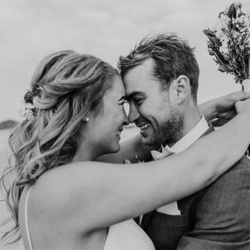 Byron Bay Wedding Beach Elopement Bride and Groom Lady Bella Photography